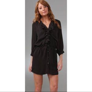 Joie Claude silk dress NWT Large